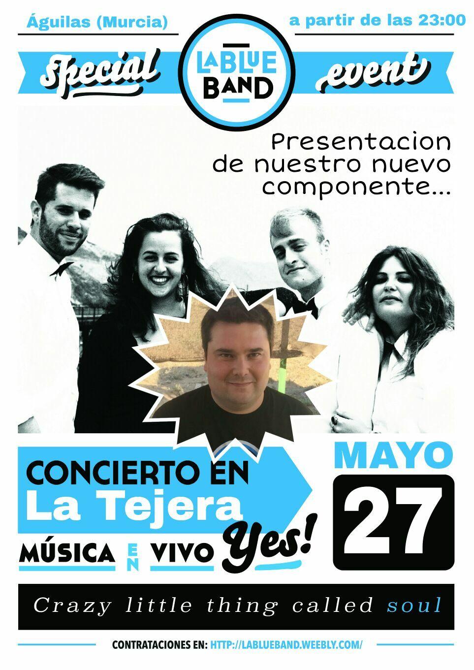 Concierto 27 de Mayo en Sala La Tejera (Águilas)